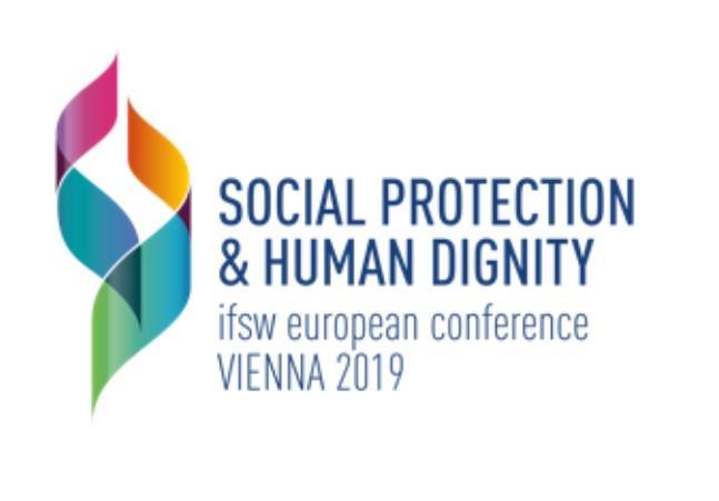 Logo Den europeiske sosialarbeiderkonferansen 2019