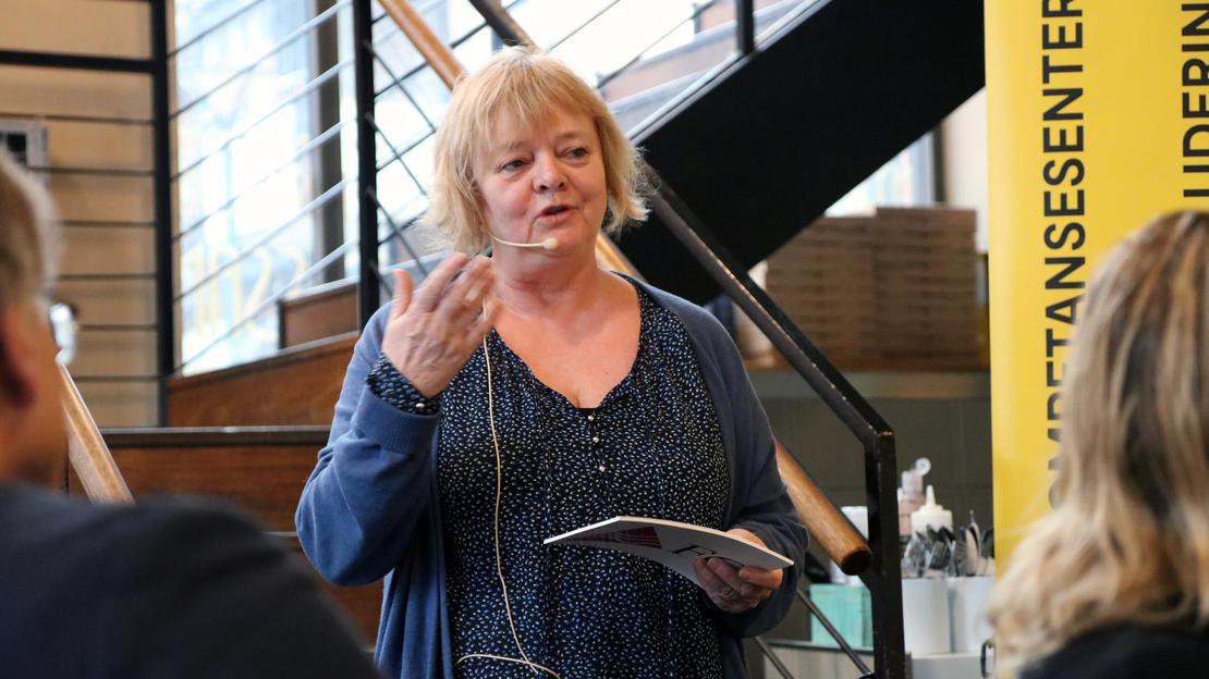 AVHENGER AV NAV: Det er klart at sosionomens plass i Nav er avhengig av at det satses på sosionomen, sa Mimmi Kvisvik.