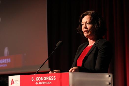Statsråd Solveig Horne