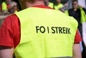 Fo streik