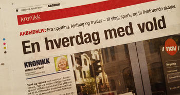 FO med kronikk i Dagsavisen
