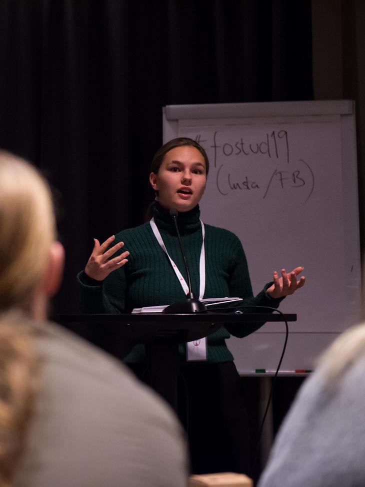 VAG: Strategiplanen er for vag, mener Sigrid Nesheim fra lokallaget i Sogndal