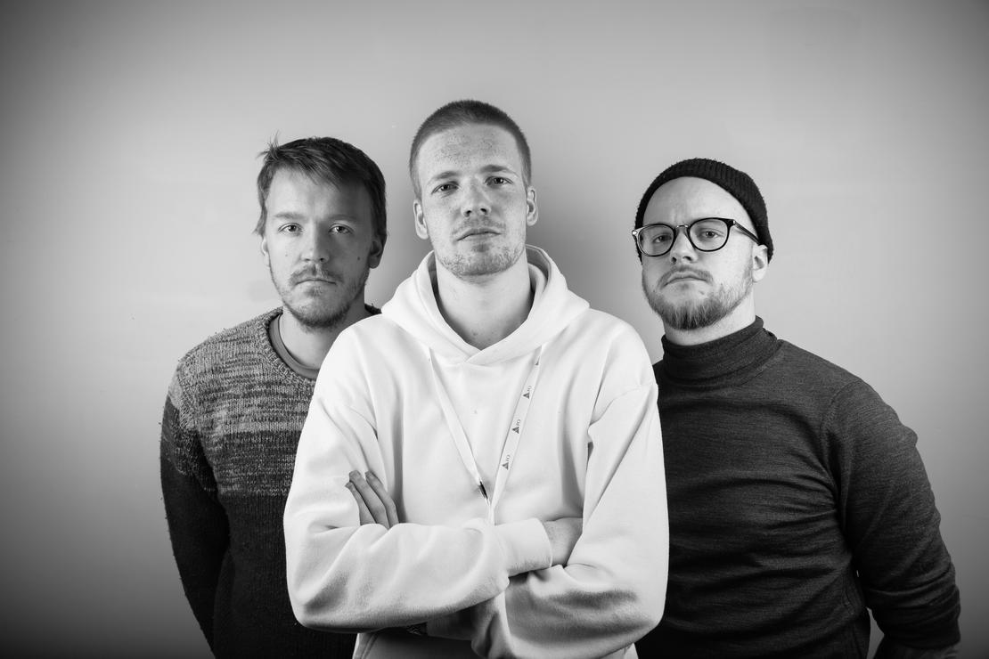 KONTROLLKOMITE: FV: Michael Ouren, Ask Nødtveidt Kaase og Geirr Berthinsen