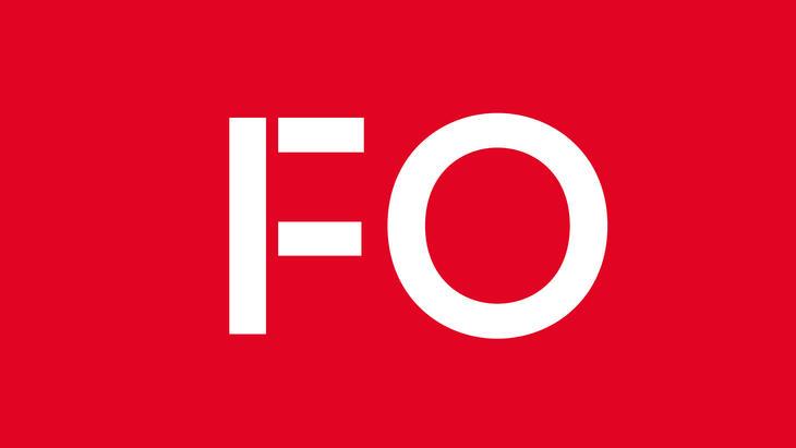 FO-logo hvit