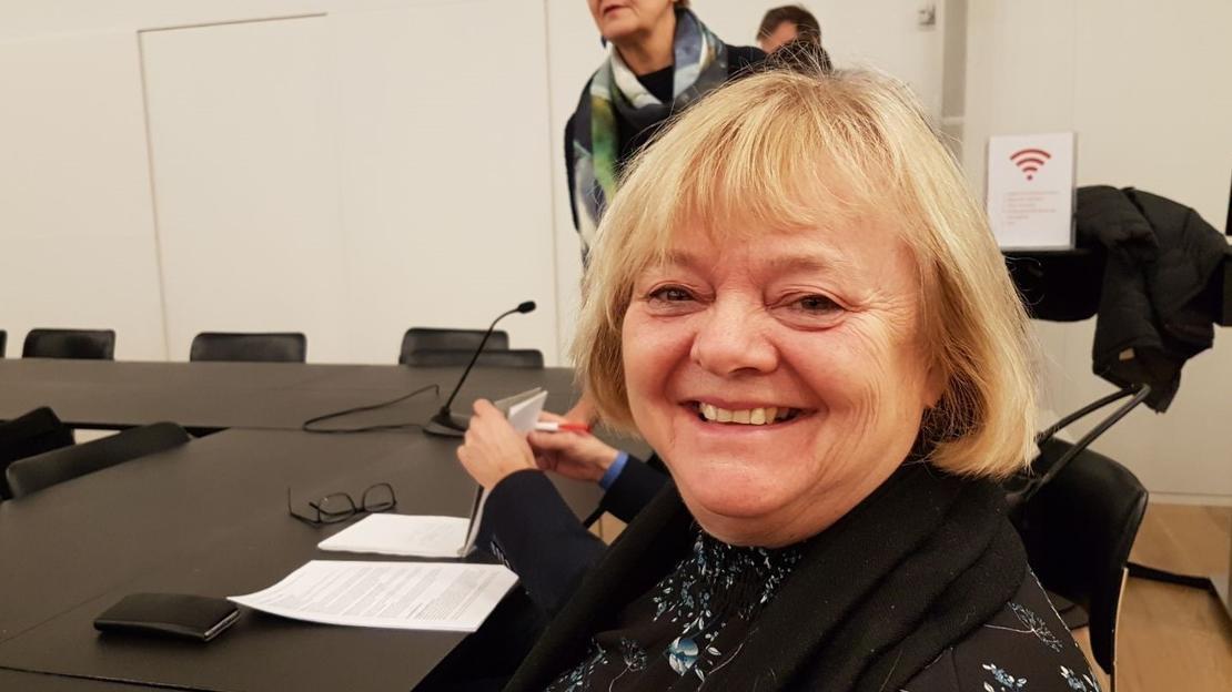 FORNØYD FO-LEDER: Mimmi Kvisvik er glad for at det 6. desember ble enighet om en ny hovedavtale for kommunesektoren.