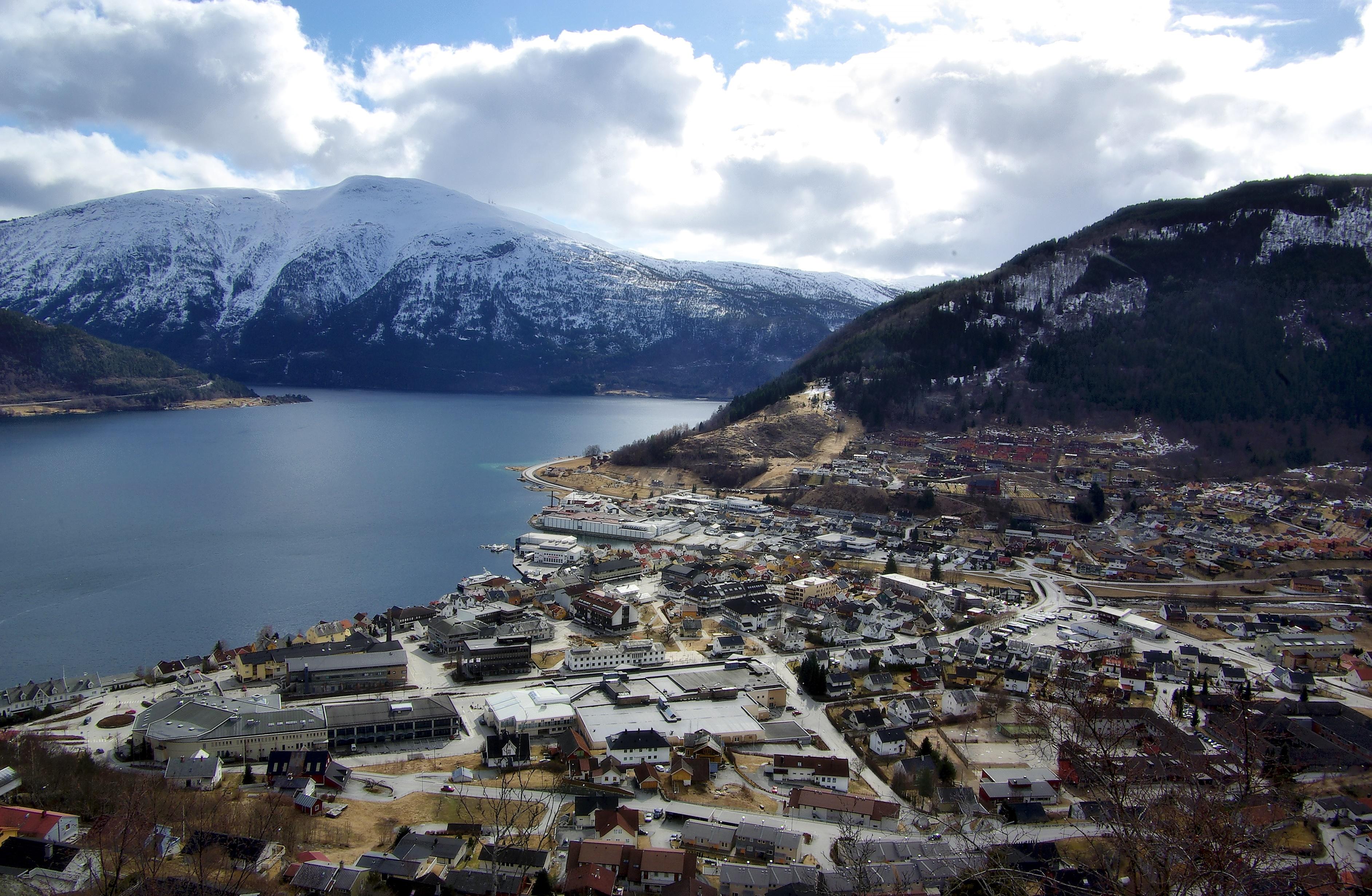 Sogndal. Foto.