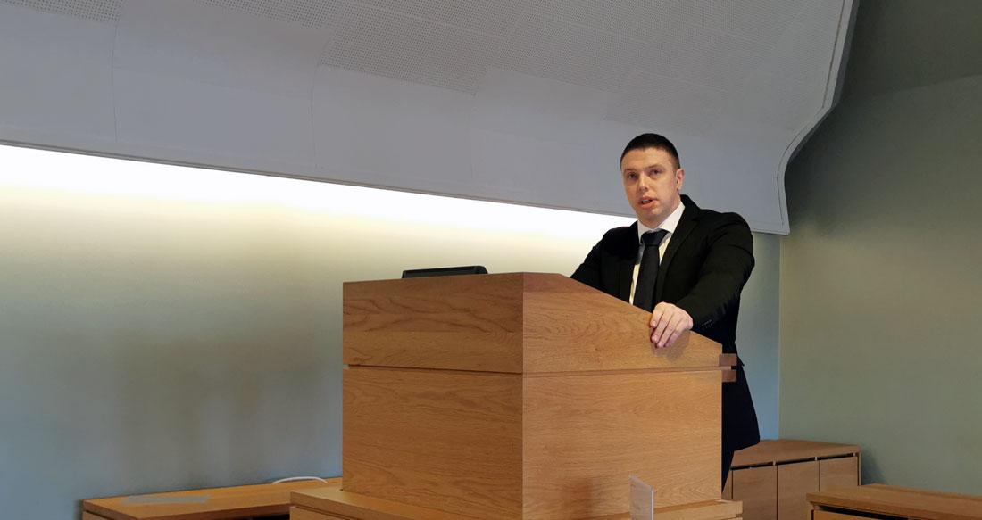 Kenneth Arctander støtter rusreformutvalgets innstilling