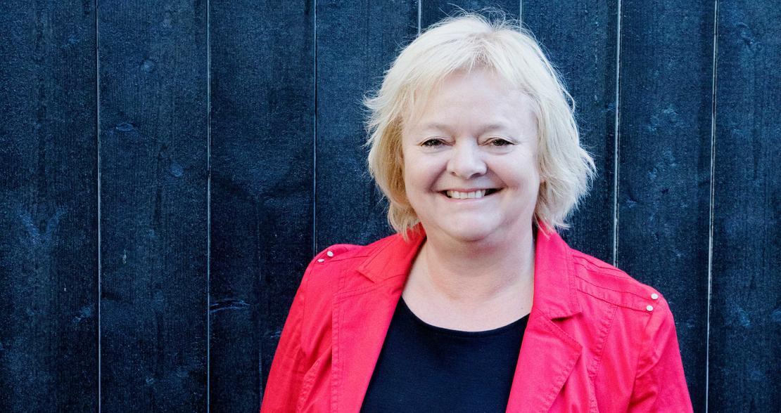 Mimmi Kvisvik er stolt over sosialarbeiderne i FO og ønsker å takke dem for jobben de gjør