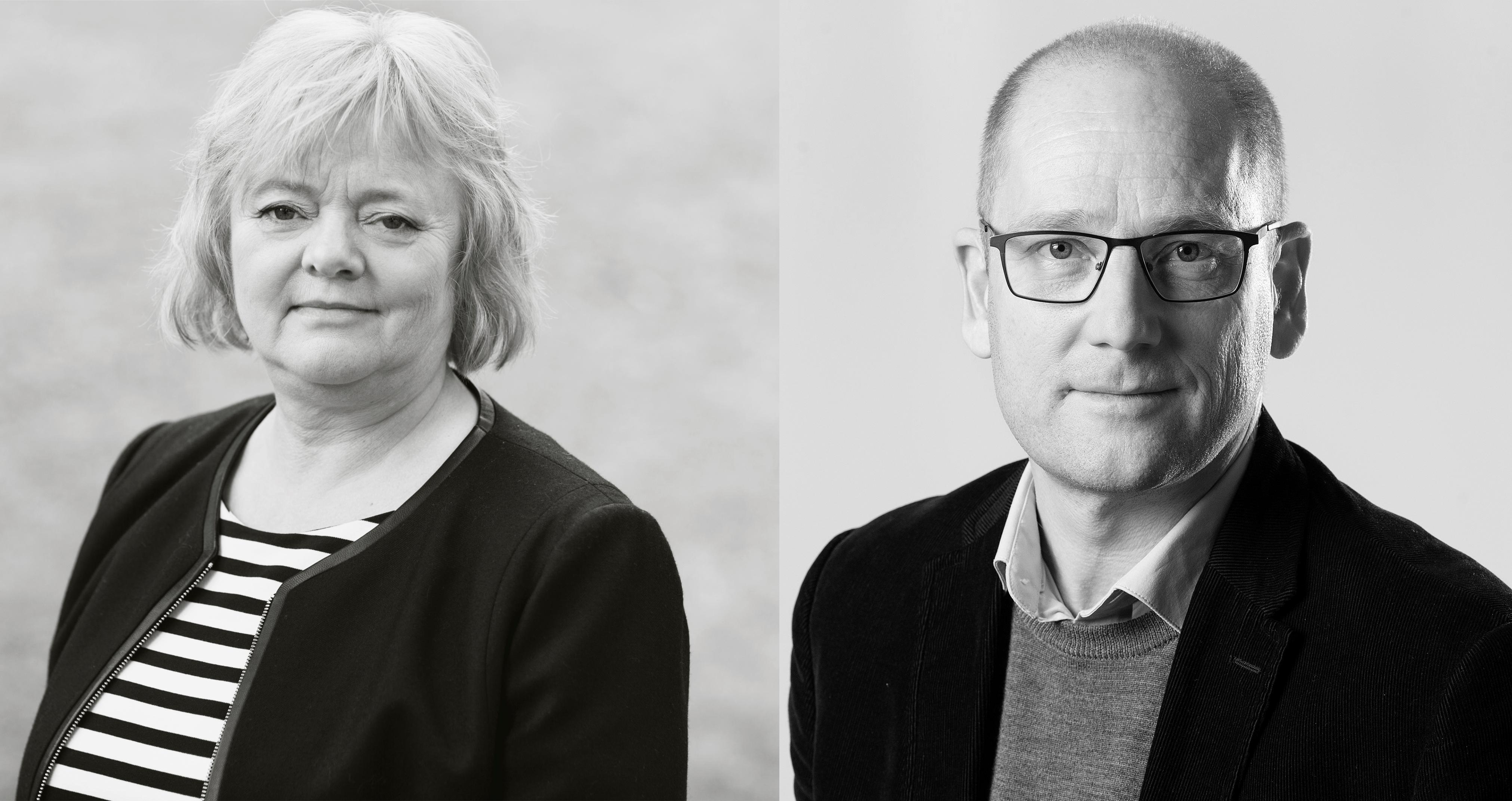 BEKYMRET: Mimmi Kvisvik (FO) og Steffen Handal (Utdanningsforbundet) ber de tillitsvalgte stå opp for de mest sårbare