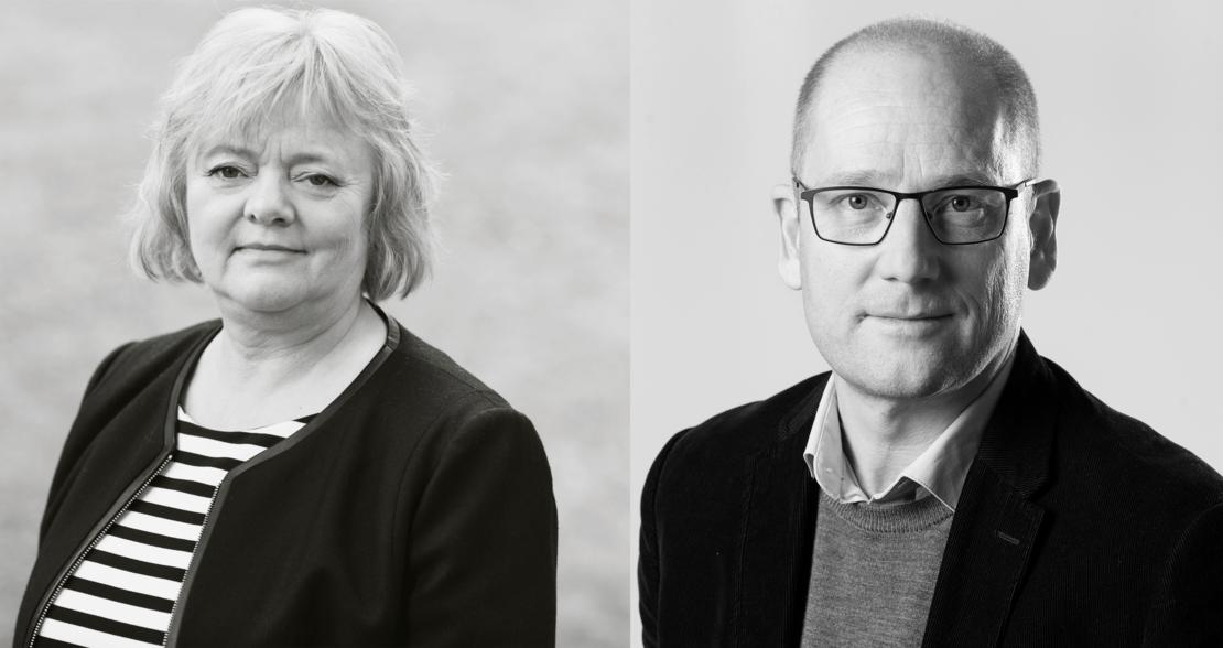 BEKYMRET: Mimmi Kvisvik og Steffen Handal ber de tillitsvalgte stå opp for de mest sårbare