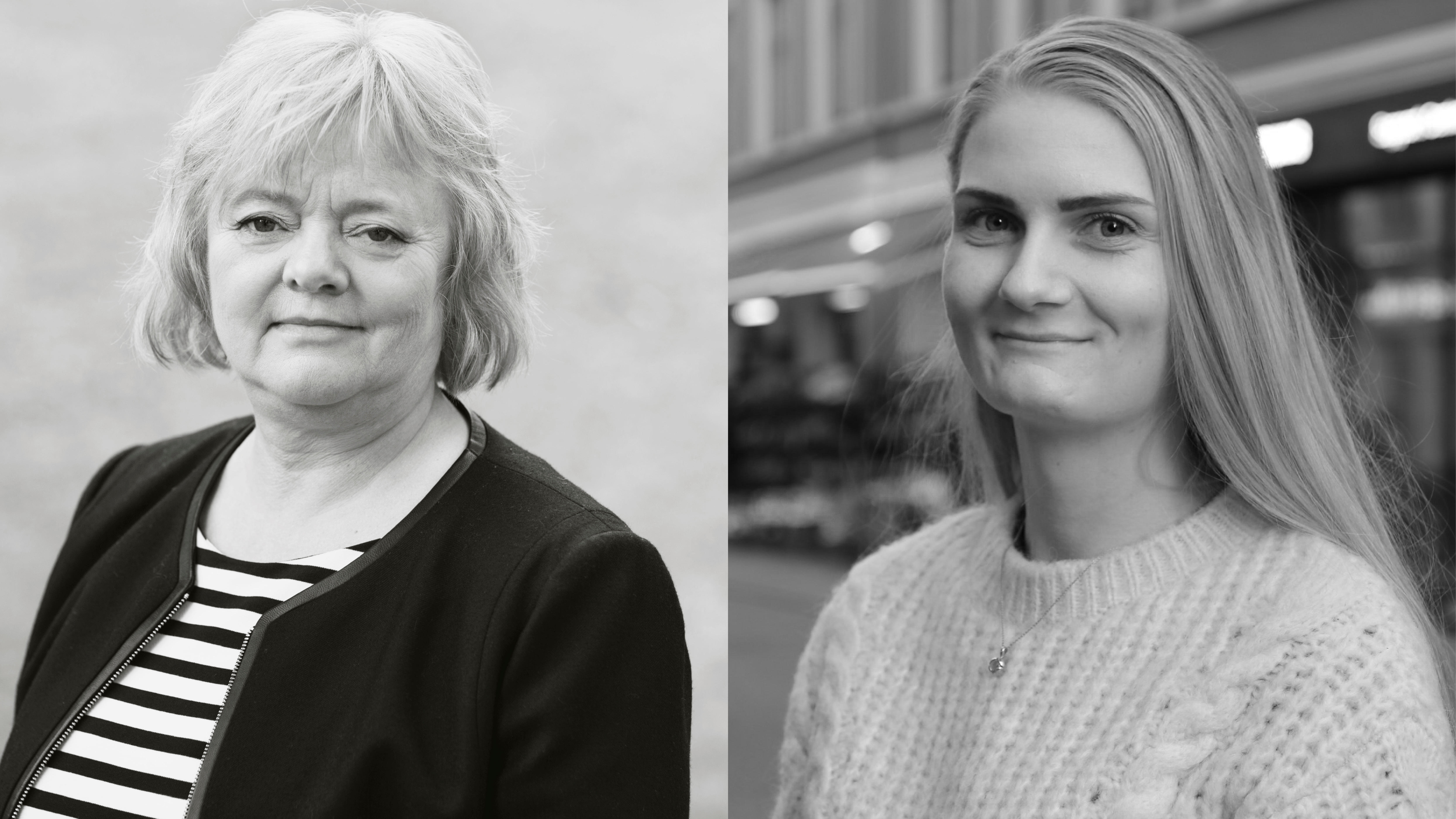Mimmi Kvisvik og Iris Jansdottir Nordberg