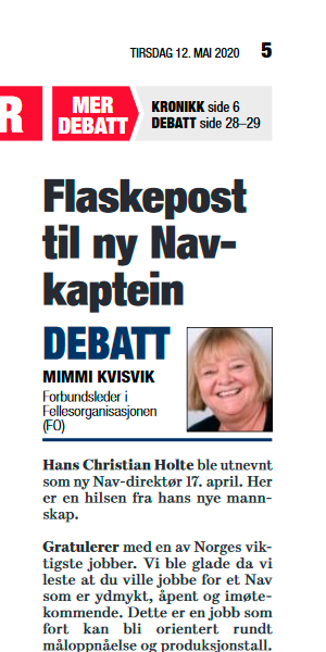 Faksimile Dagsavisen