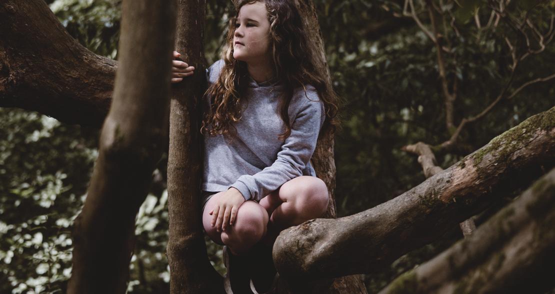 jente i et tre