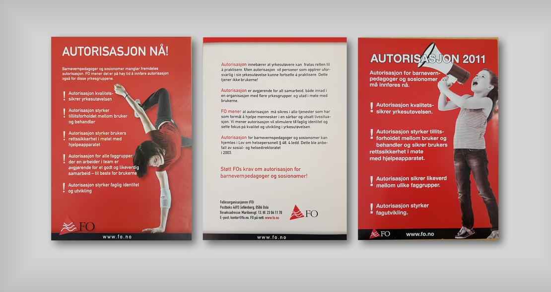 Autorisasjon brosjyrer