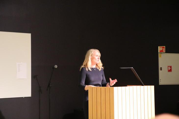 Arbeids- og sosialminister Anniken Hauglie