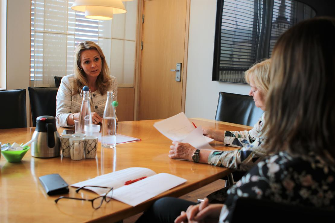 Positivt at Linda Hofstad Helleland understreker behovet for mer midler til barnevernet