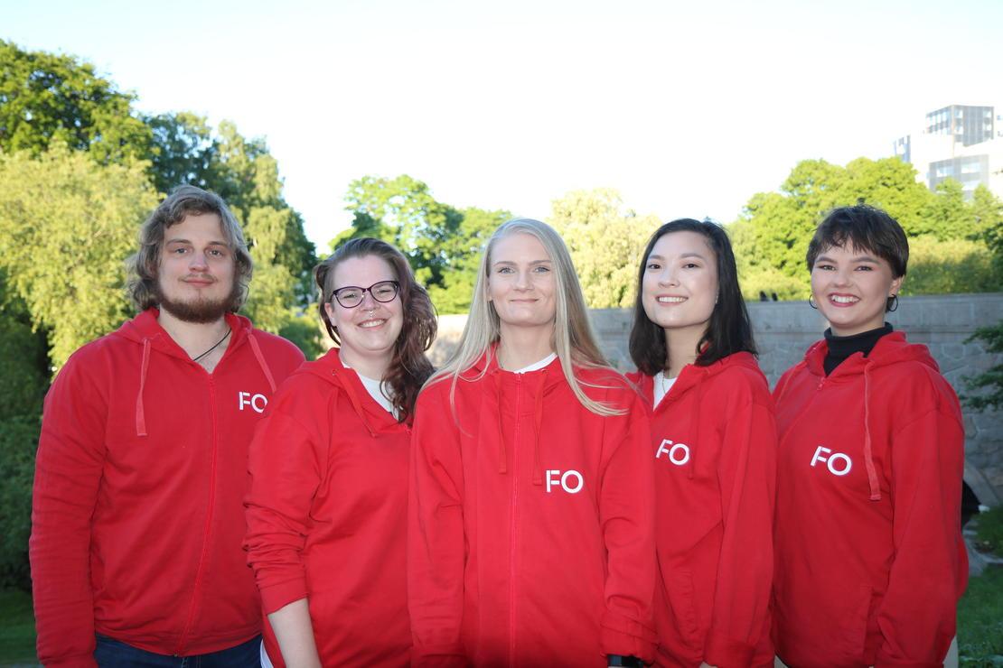 Studentstyret: FO-Studentene valgt på årsmøtet i 2019