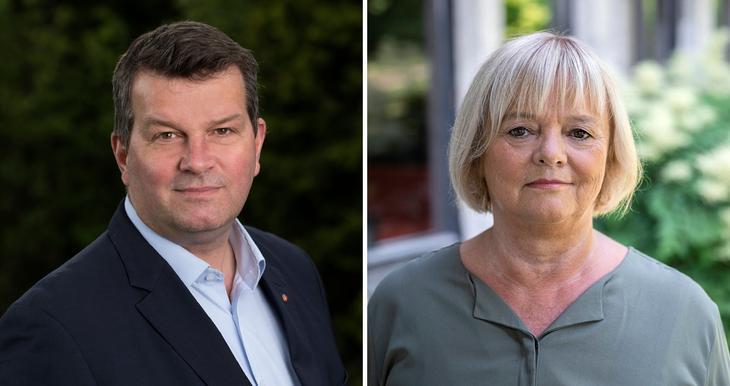 Les kronikken fra FO-leder Mimmi Kvisvik og LO-leder Hans Christian Gabrielsen Klassekampen.
