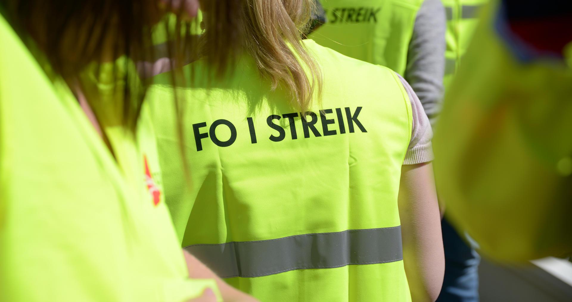 Brudd i mekling på NHO området – FO i streik fra lørdag