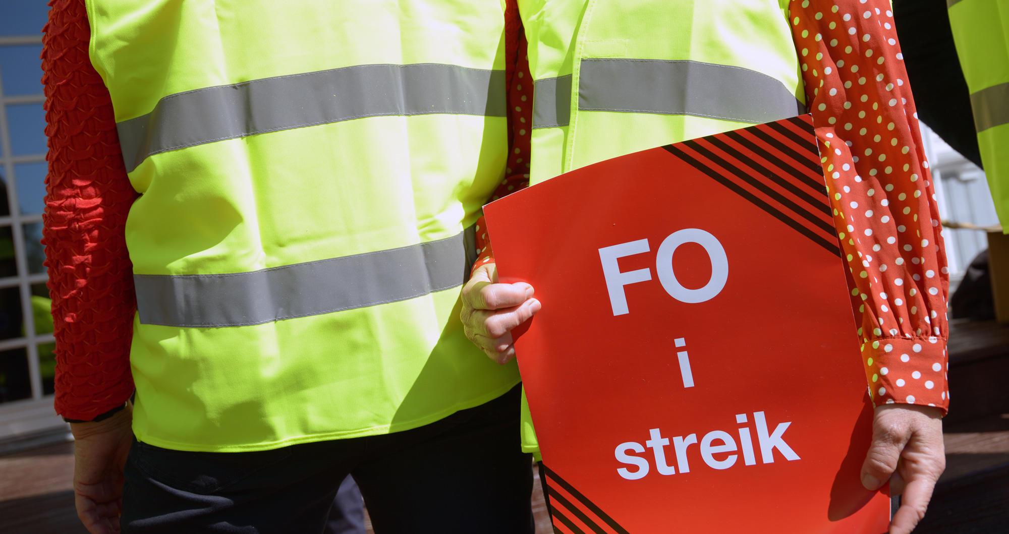 Spørsmål og svar om streik