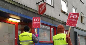 FO i streik
