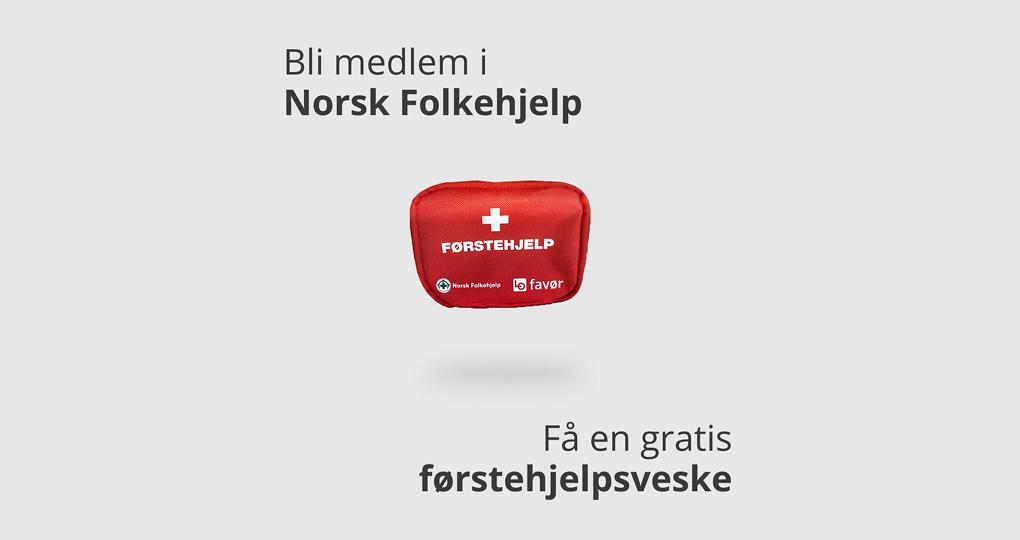 LOfavør er ny stolt samarbeidspartner av Norsk Folkehjelp