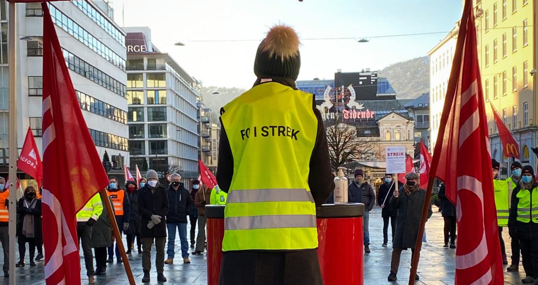 Fare for streik: Disse kan bli tatt ut i kommunal sektor