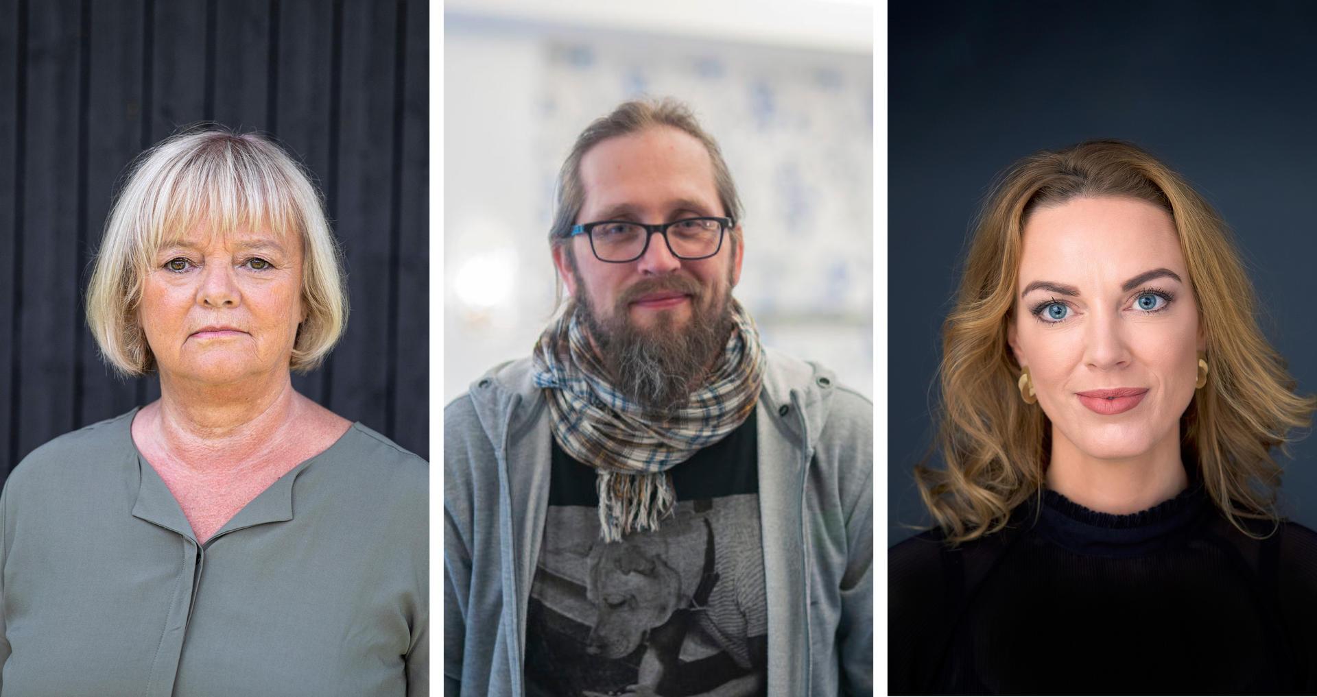 Mimmi Kvisvik, Thomas Johansen og Sissel Aarak