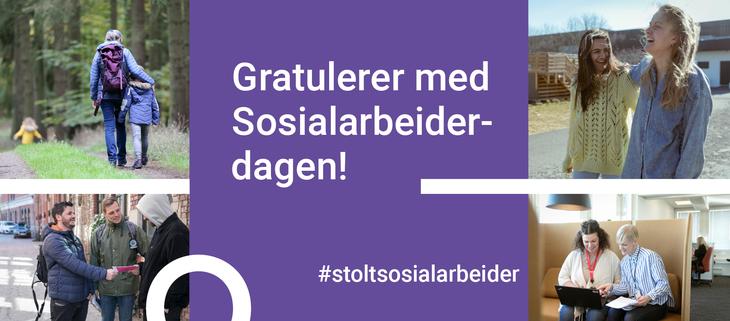 Gratulerer med sosialarbeiderdagen!