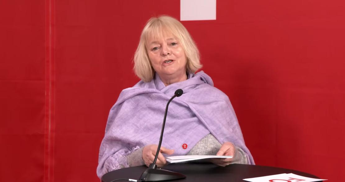 Mimmi Kvisvik på sosialarbeiderdagen 2021