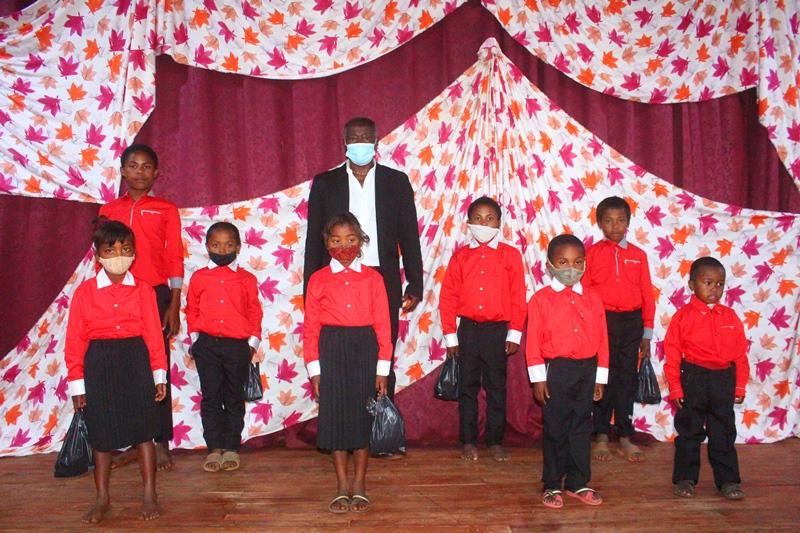 Elever på Madagaskar