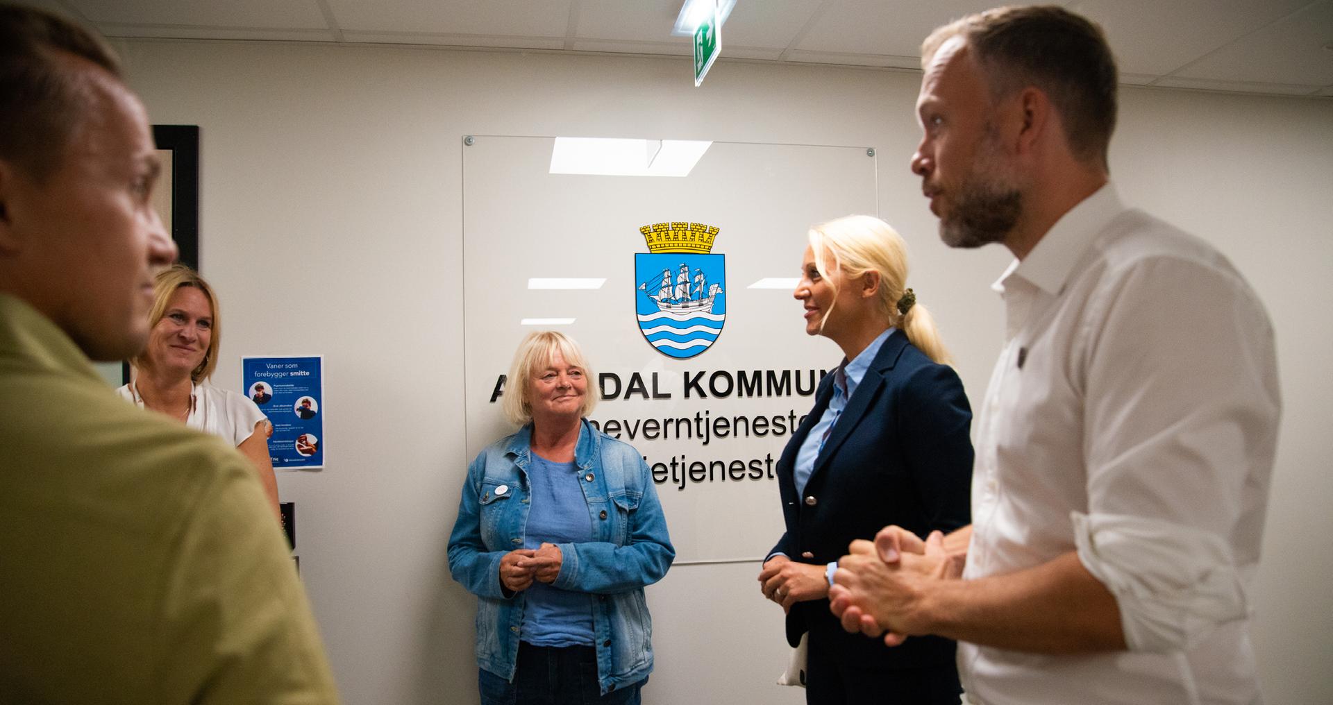 FO tok SV-leder med på besøk til barnevernstjenesten i Arendal