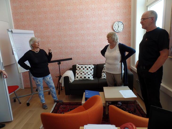 Egil Lunde, Mimmi og Inger Brit Line