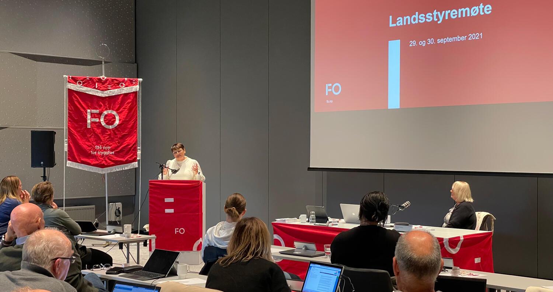 FO gjennomførte første fysiske landsstyremøte siden landsmøtet i 2019