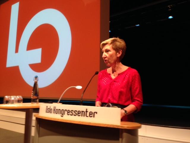 LO-sekretær Peggy Hessen Følsvik