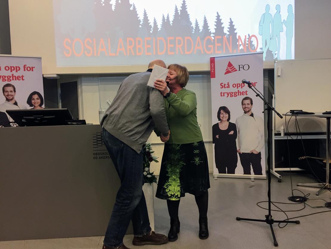 PRISVINNER: Bernt Barstad