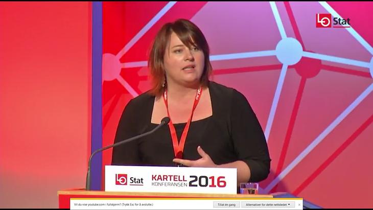 Kathrine Haugland Martinsen - Kartellkonferansen 2016