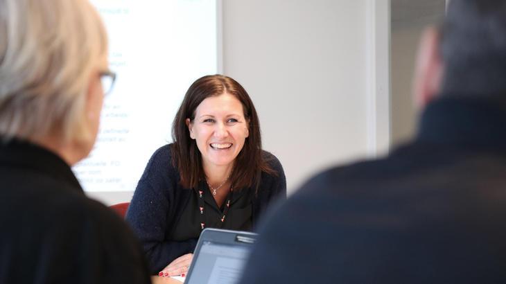 Nestleder i FO, Mariannne Solberg Johnsen.