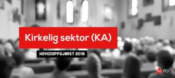 Kirkelig sekotr (KA) hovedoppgjøret 2018